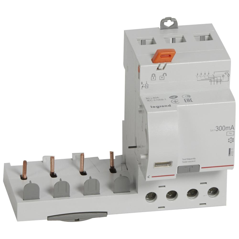 Диф.блок DX3 40A 4П 300mA-AC