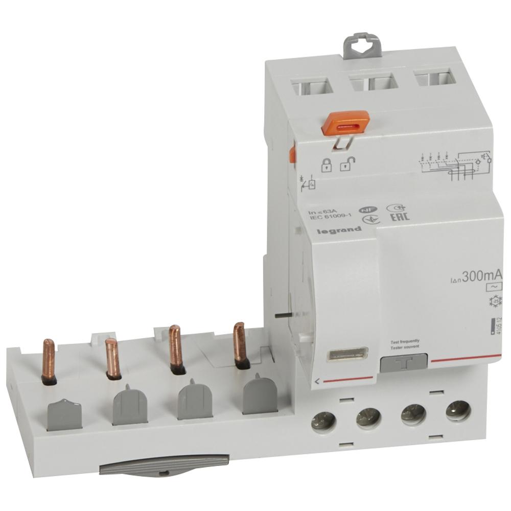 Диф.блок DX3 63A 4П 300mA-AC