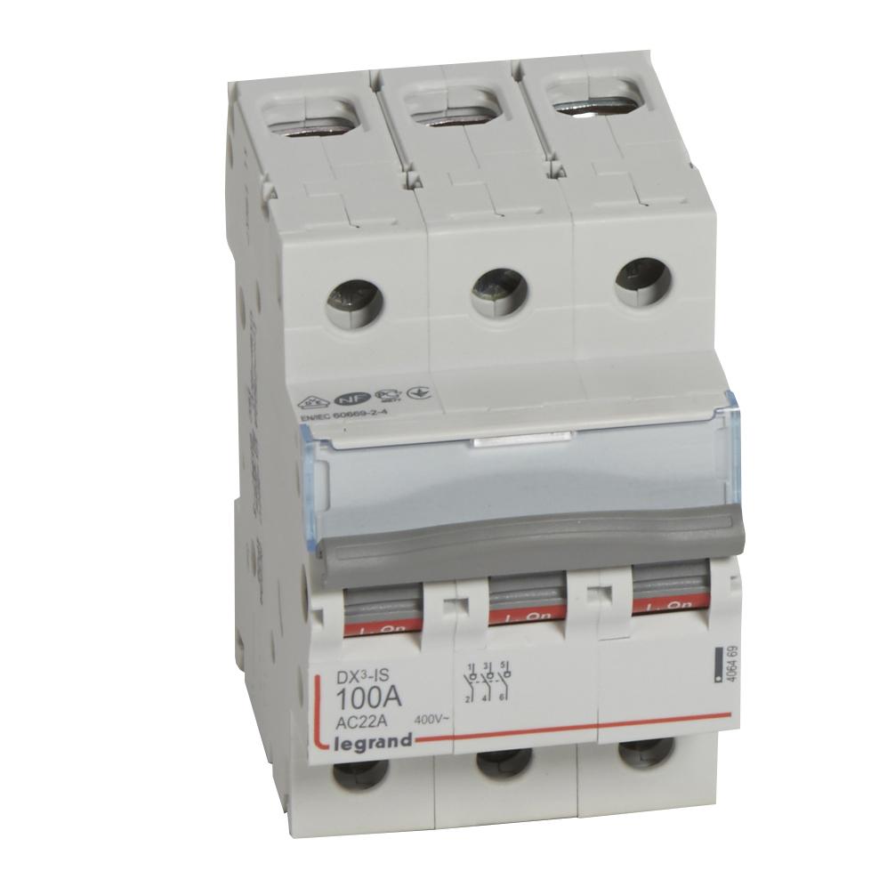 Выкл.разъед.DX3 3П 100A