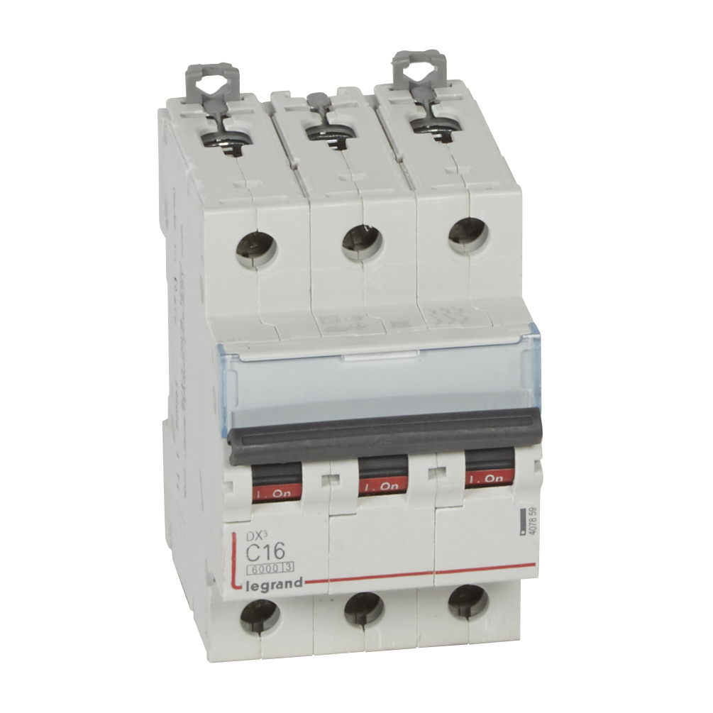 Авт.выкл.DX3 3П С16A 6000/10kA