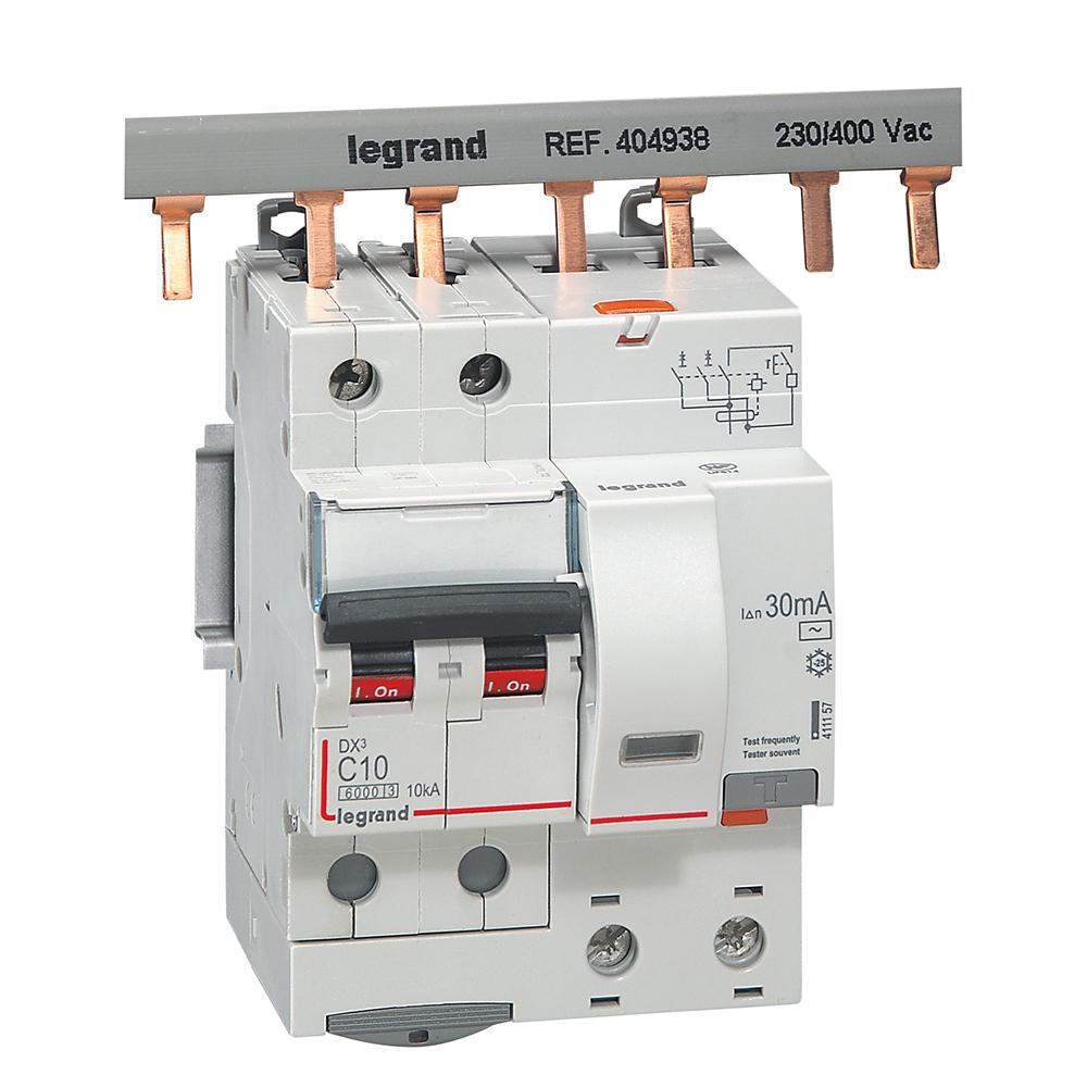 АВДТ DX3 2П C10А 30MA-AC 4м