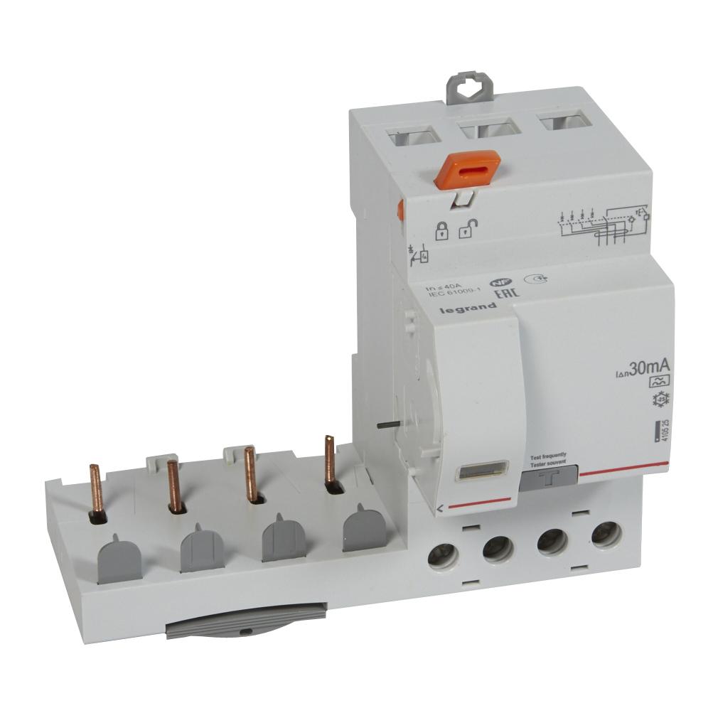 Диф.блок DX3 40A 4П 30mA-A