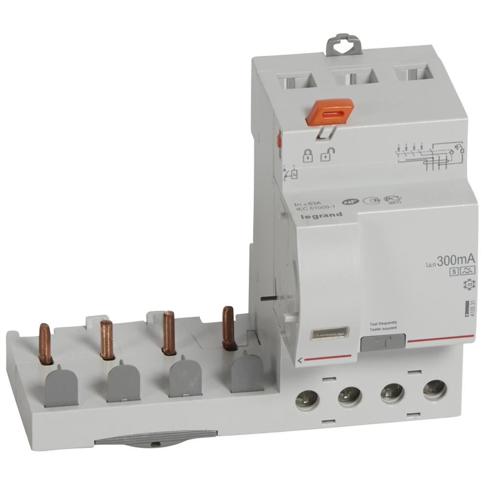 Диф.блок DX3 63A 4П 300mA-A-S