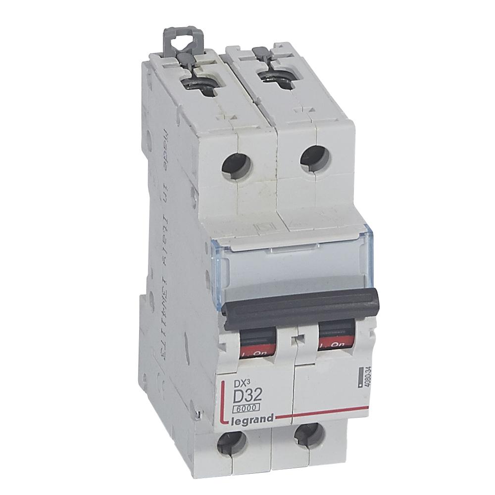 Авт.выкл.DX3 2П D32A 6000/10kA
