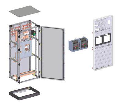 Вводно-секционная панель ГРЩ 1000А