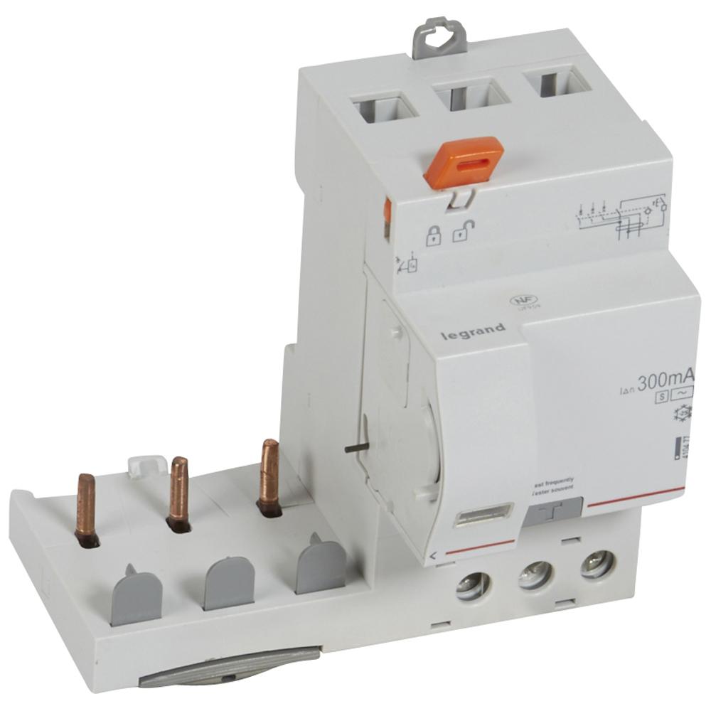 Диф.блок DX3 63A 3П 300mA-AC-S