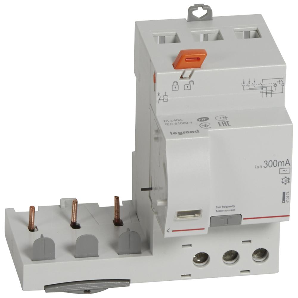 Диф.блок DX3 40A 3П 300mA-AC – Legrand