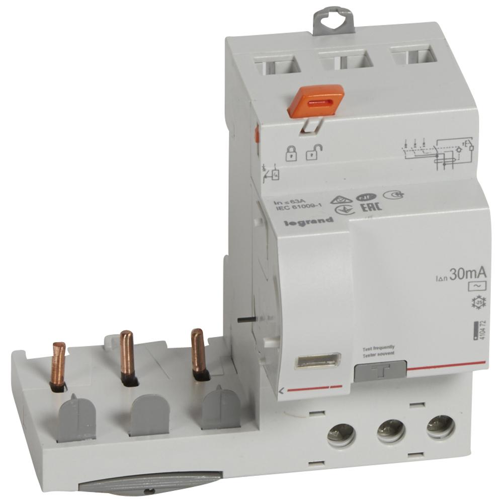 Диф.блок DX3 63A 3П 30mA-AC