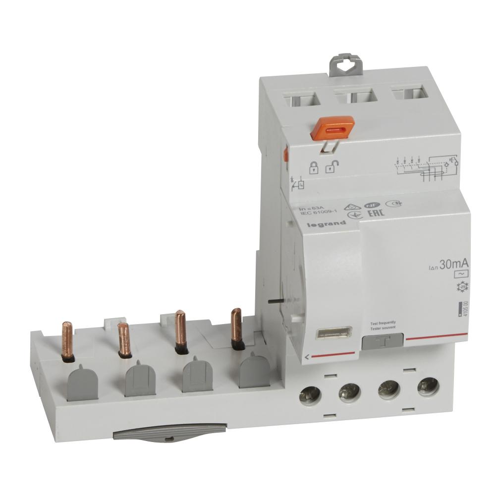 Диф.блок DX3 63A 4П 30mA-AC – Legrand