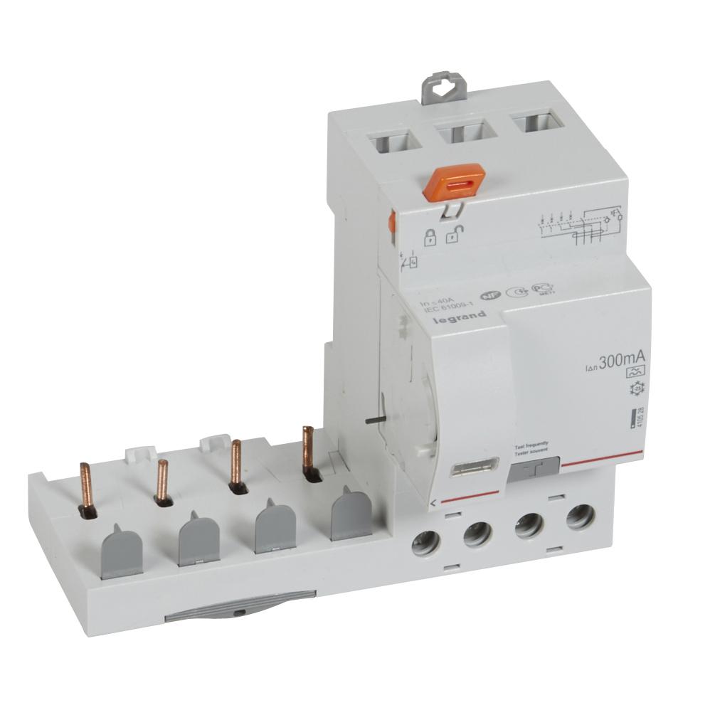 Диф.блок DX3 40A 4П 300mA-A