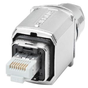 IE FastConnect RJ45 Plug PRO; IP65; FastConnect; IE; RJ45 Push-pull connector for on-site Installation on IE FC TP Cable 2x2; and IE FC TP Cable 4x2;