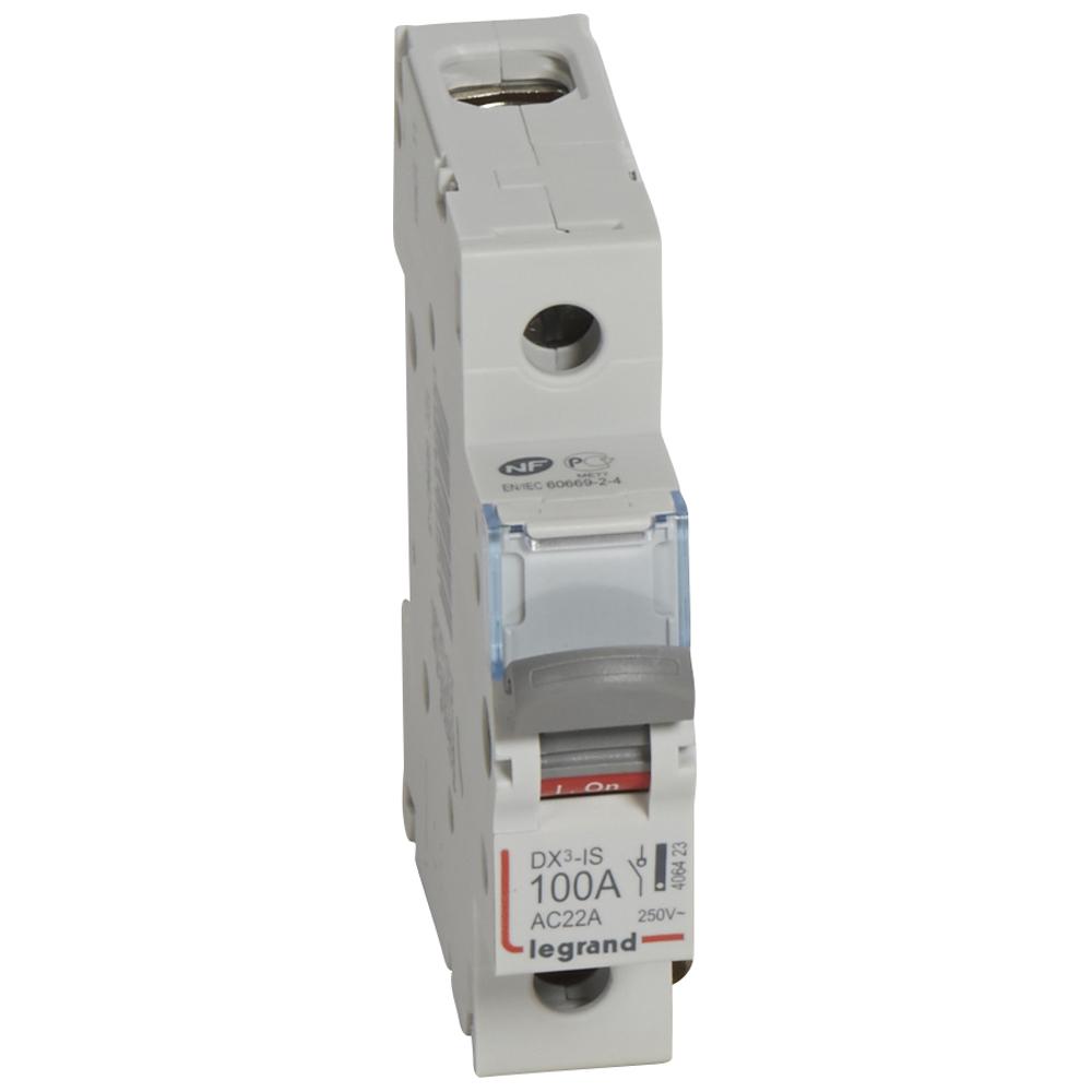 Выкл.разъед.DX3 1П 100A