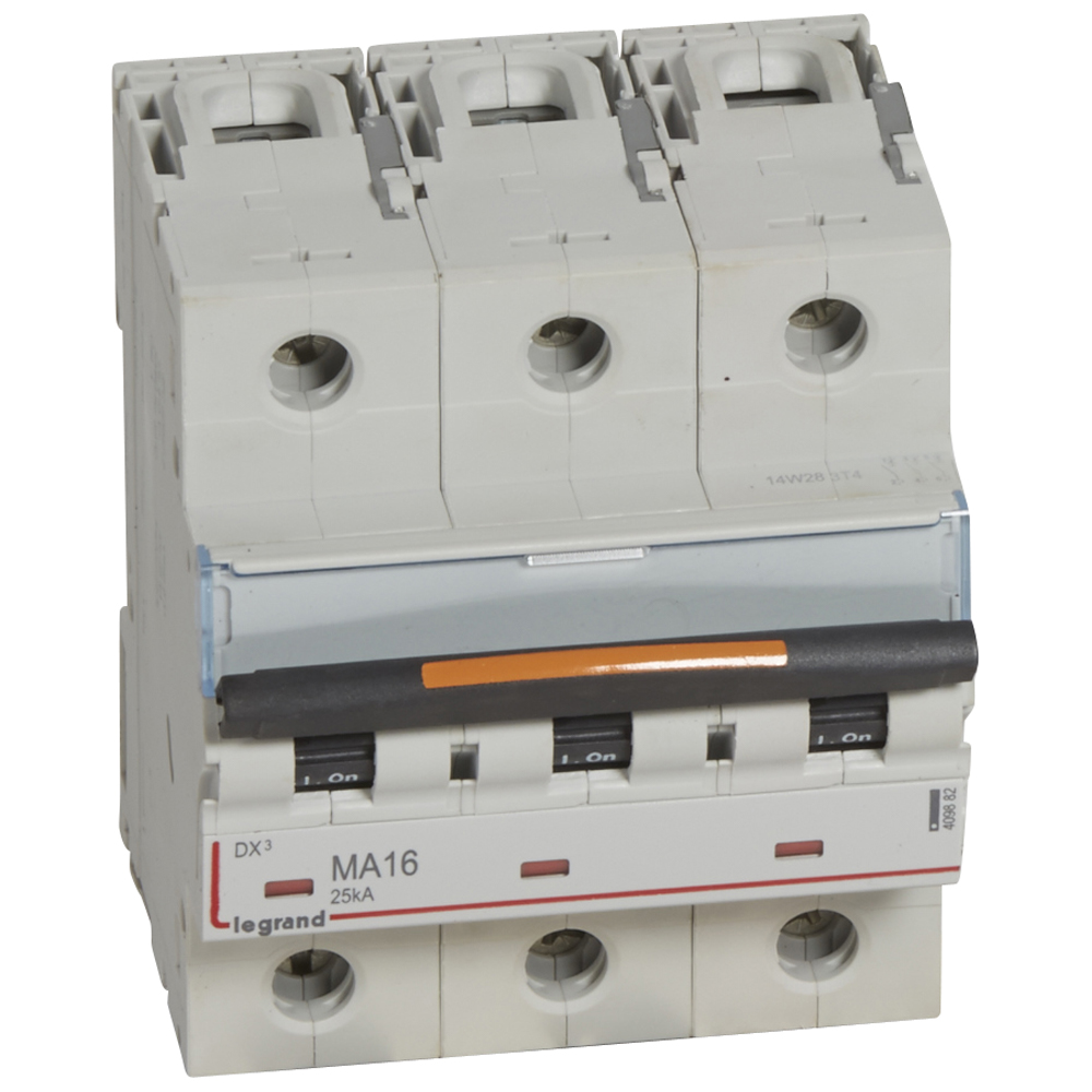 Авт.выкл.DX3 3П MA16A 25кА