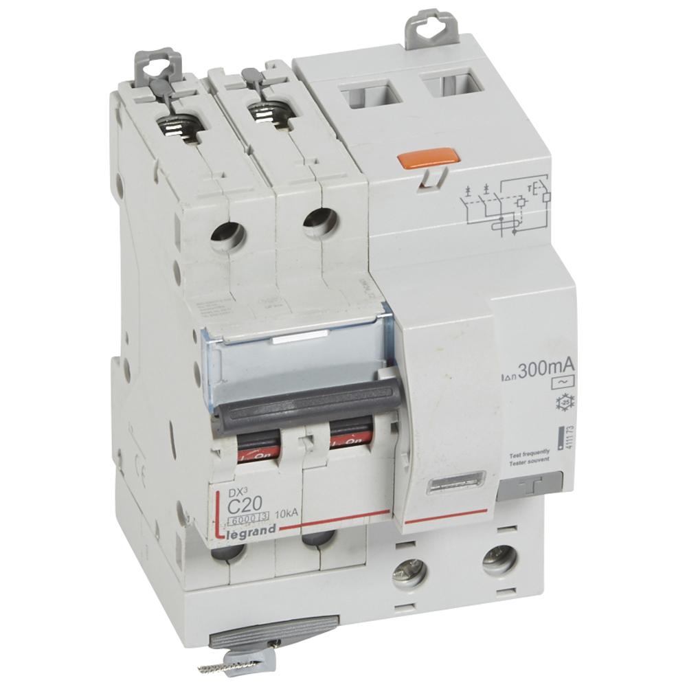 АВДТ DX3 2П C20А 300MA-AC 4м
