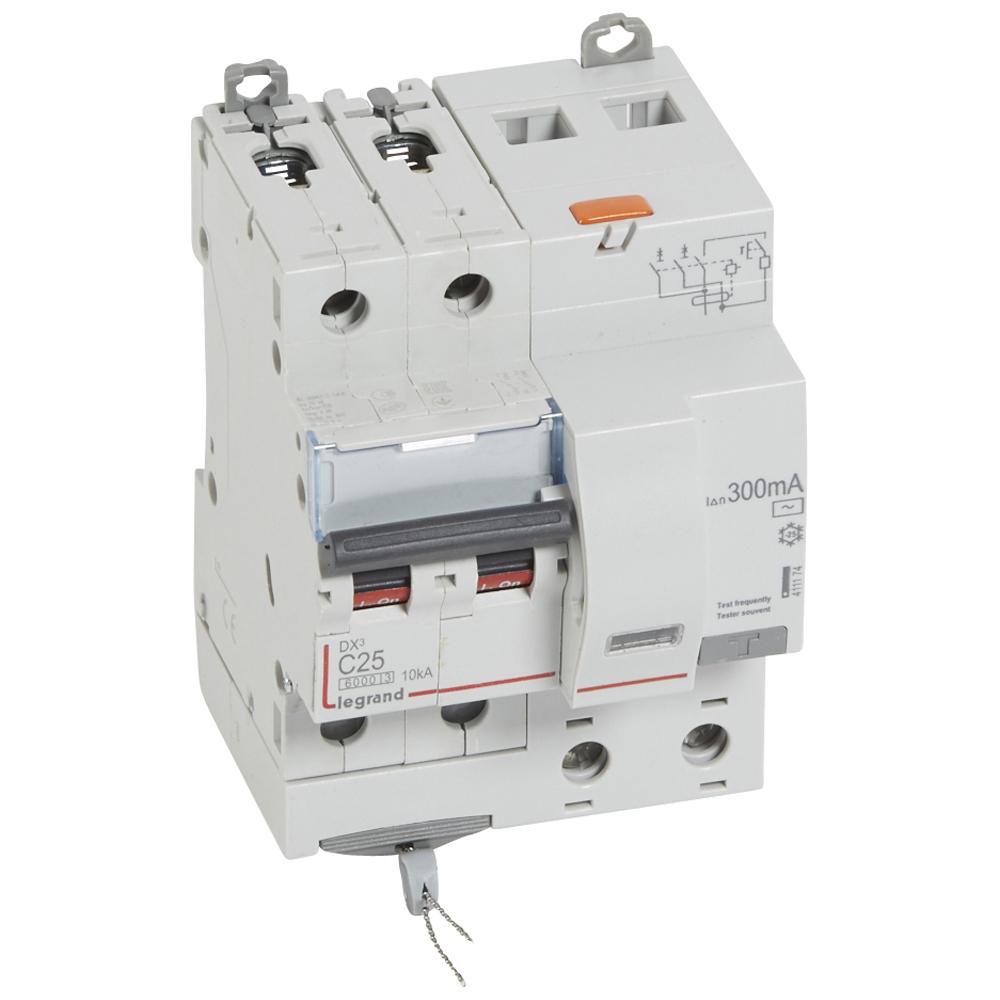 АВДТ DX3 2П C25А 300MA-AC 4м