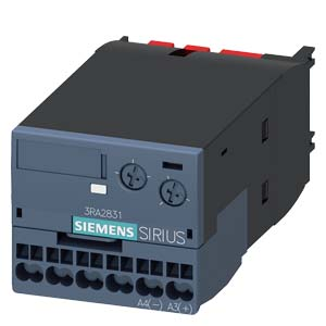 ELECTR. TIMING RELAY ON-DELAY WITH SEMICONDUCTOR OUTPUT 90... 240V AC/DC TIME RANGE 0.05... 100S FOR SNAPPING ONTO THE FRONT, FOR 3RT2 CONTACTORS, S2