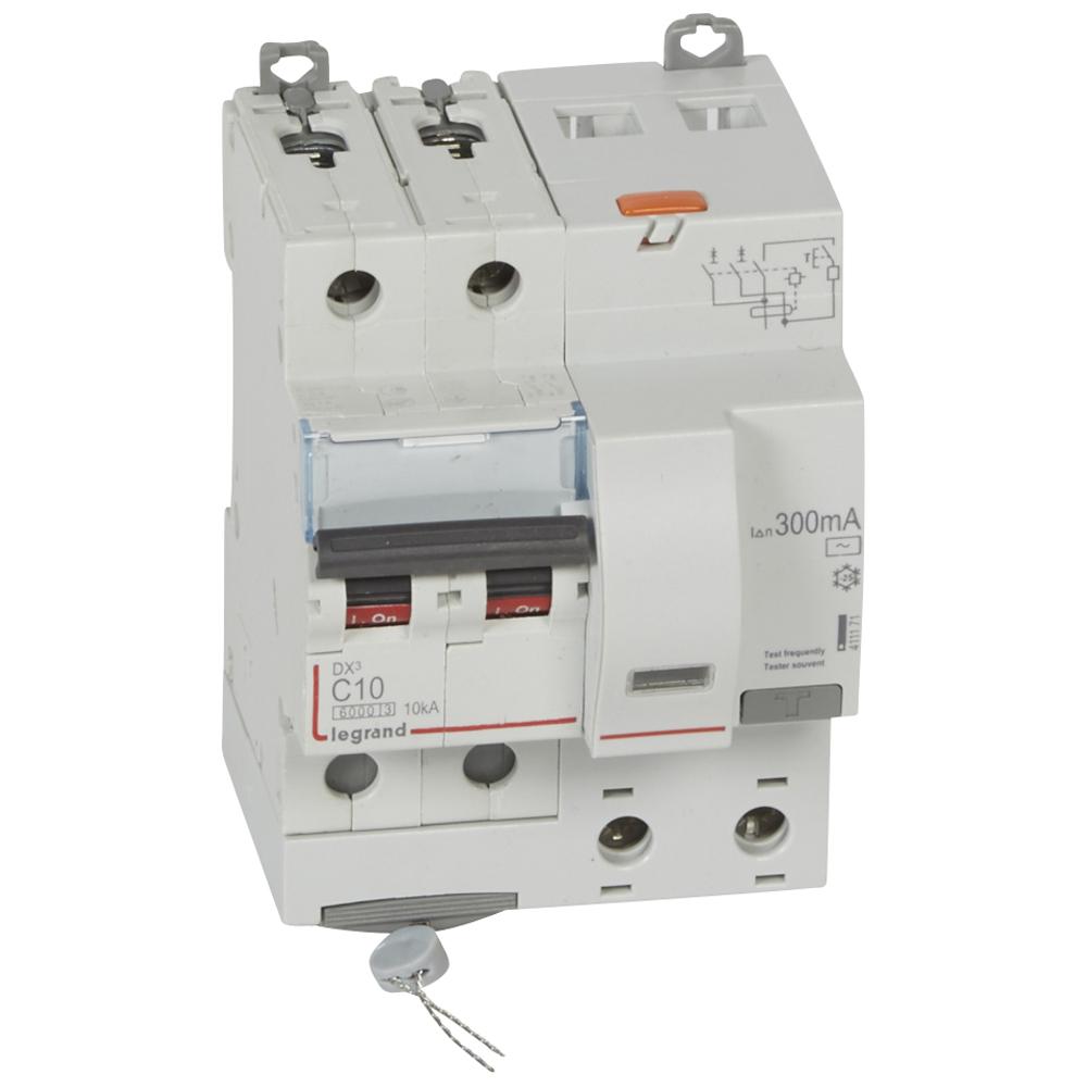 АВДТ DX3 2П C10А 300MA-AC 4м