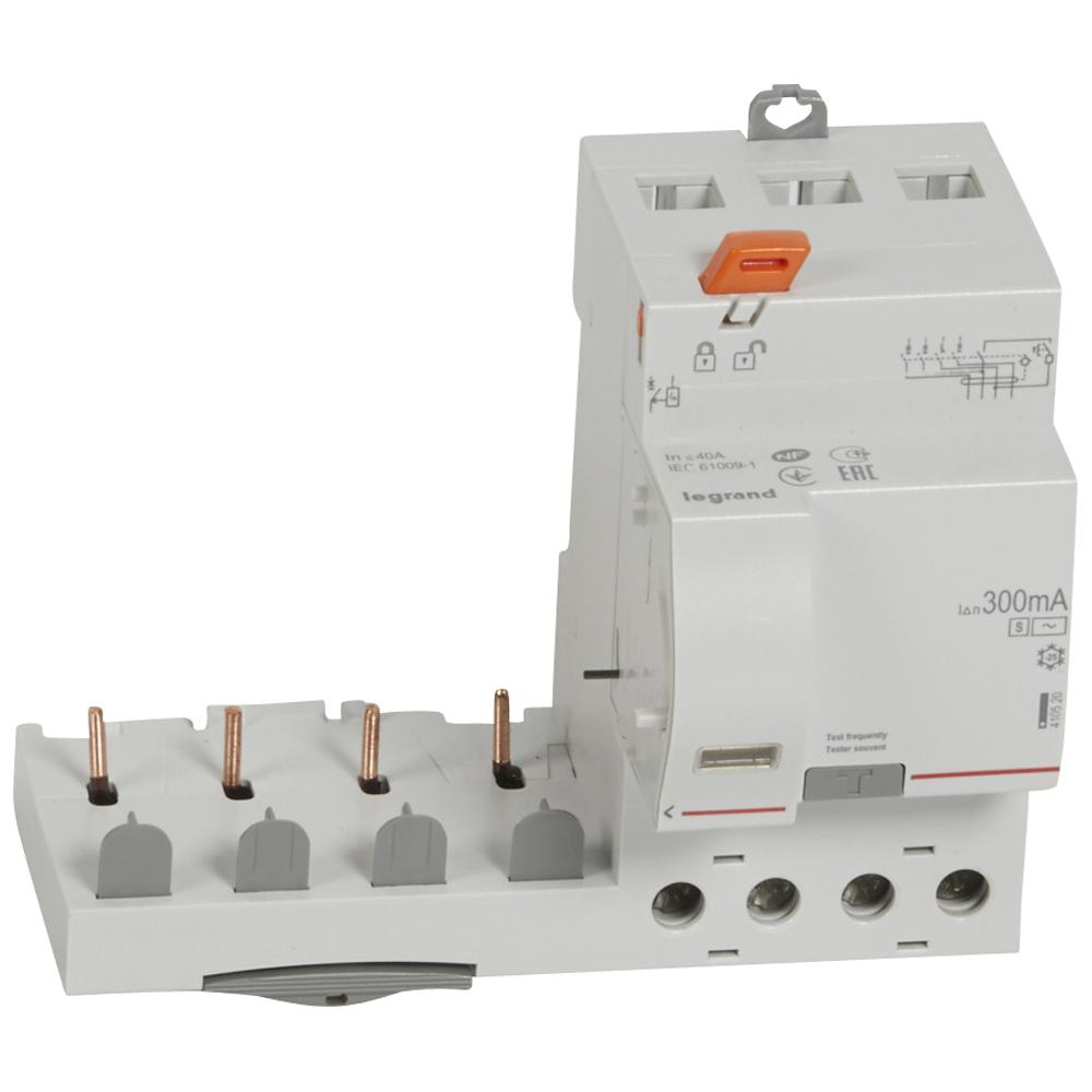 Диф.блок DX3 40A 4П 300mA-AC-S