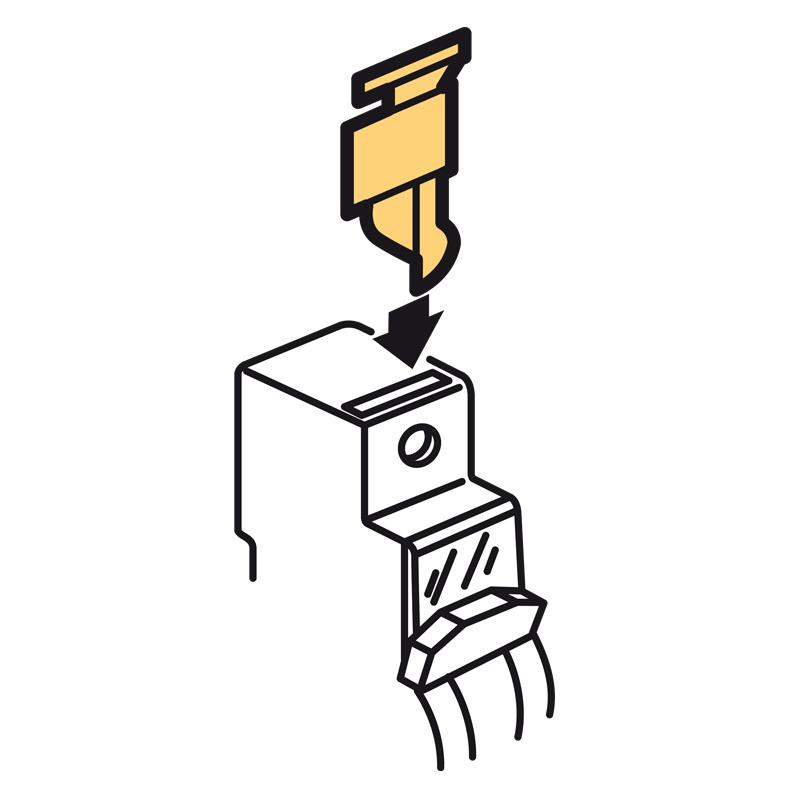 Пломб.крышка винта с шагом 1м