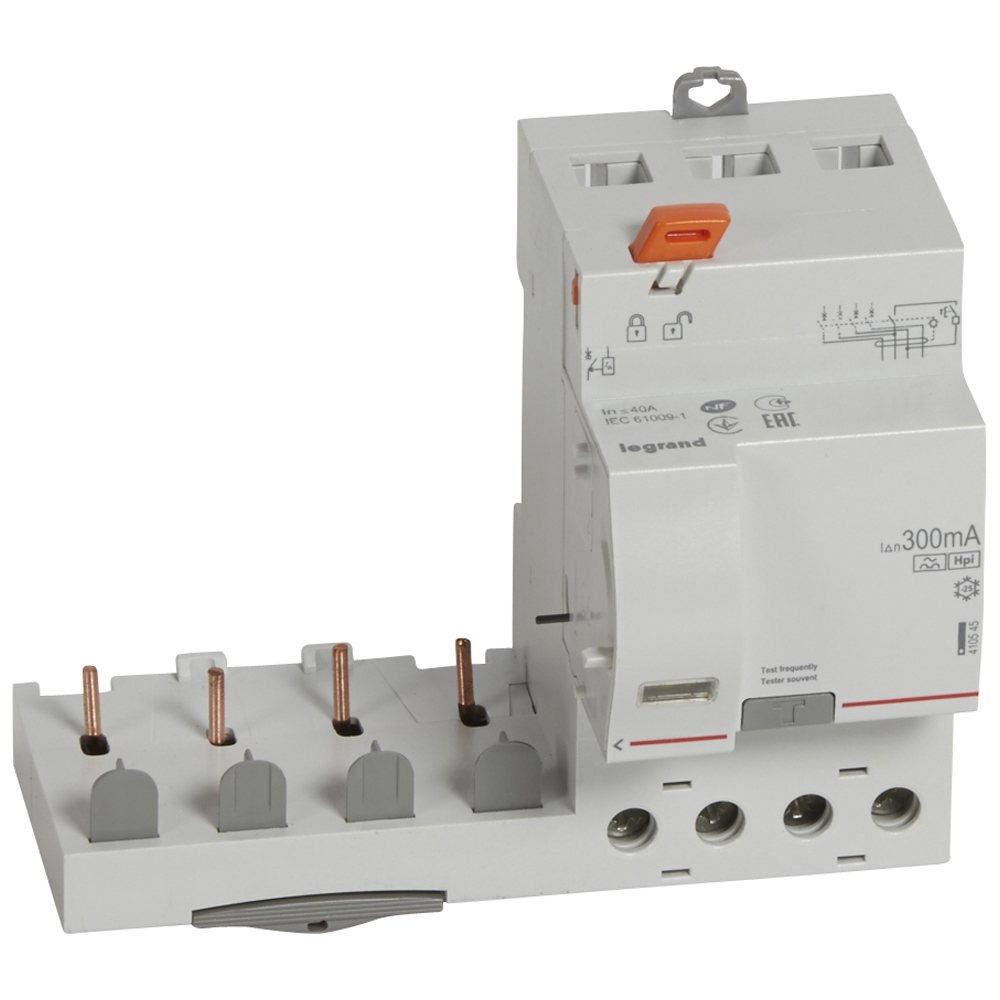 Диф.блок DX3 40A 4П Hpi 300mA – Legrand