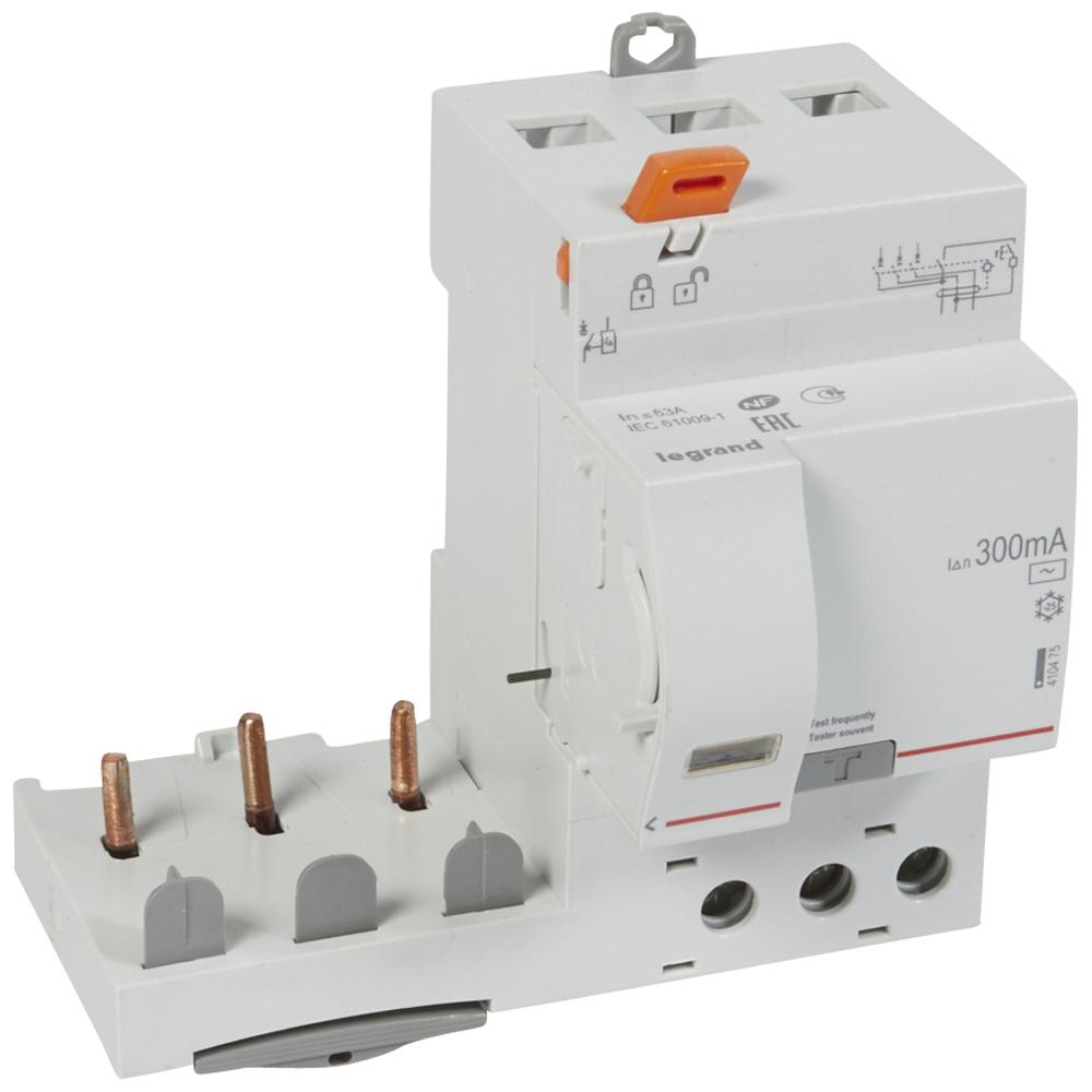 Диф.блок DX3 63A 3П 300mA-AC