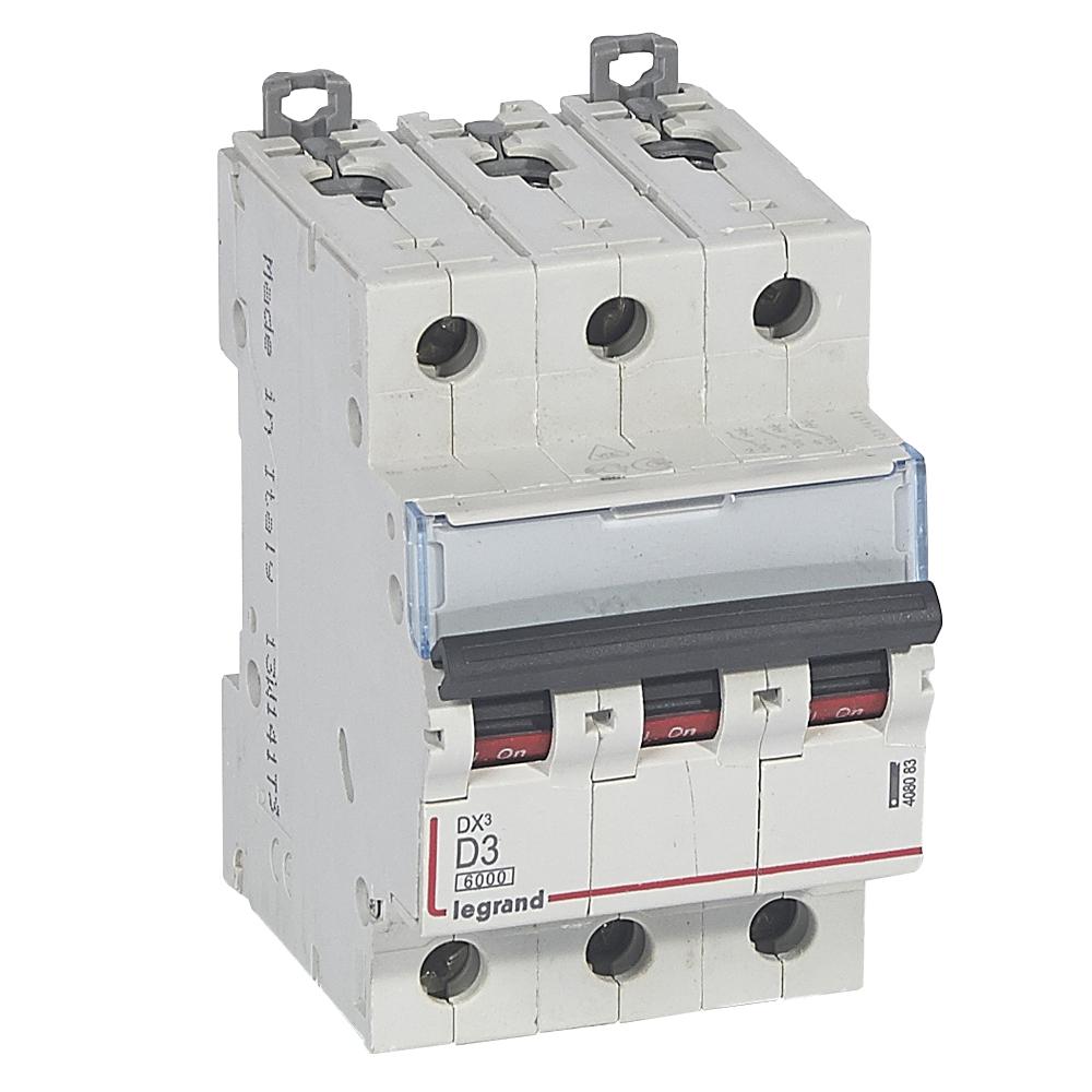 Авт.выкл.DX3 3П D3A 6000/10kA – Legrand