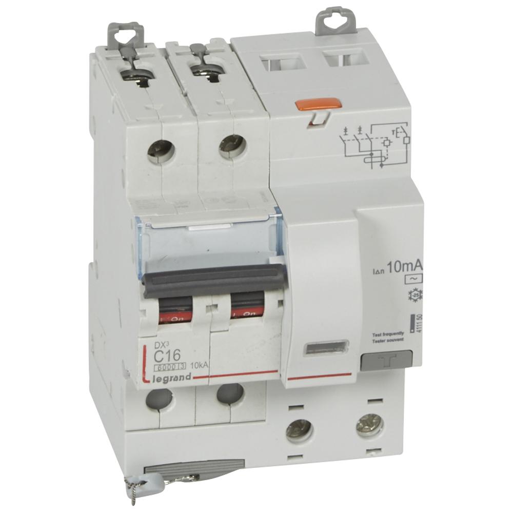 АВДТ DX3 2П C16А 10MA-AC 4м