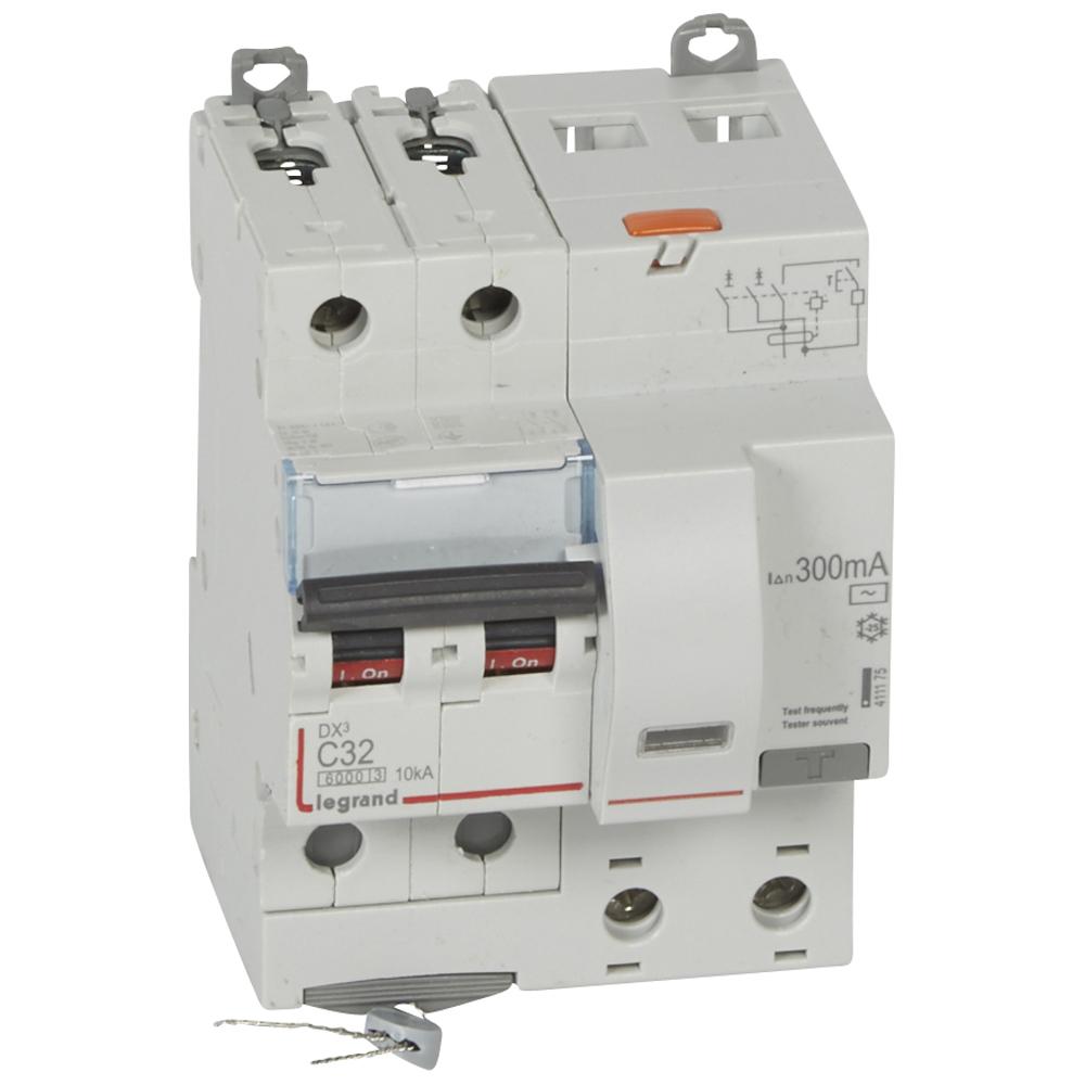 АВДТ DX3 2П C32А 300MA-AC 4м