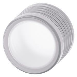 Silicone-free protective cover for mushroom pushbutton 40 mm 22 mm design, clear