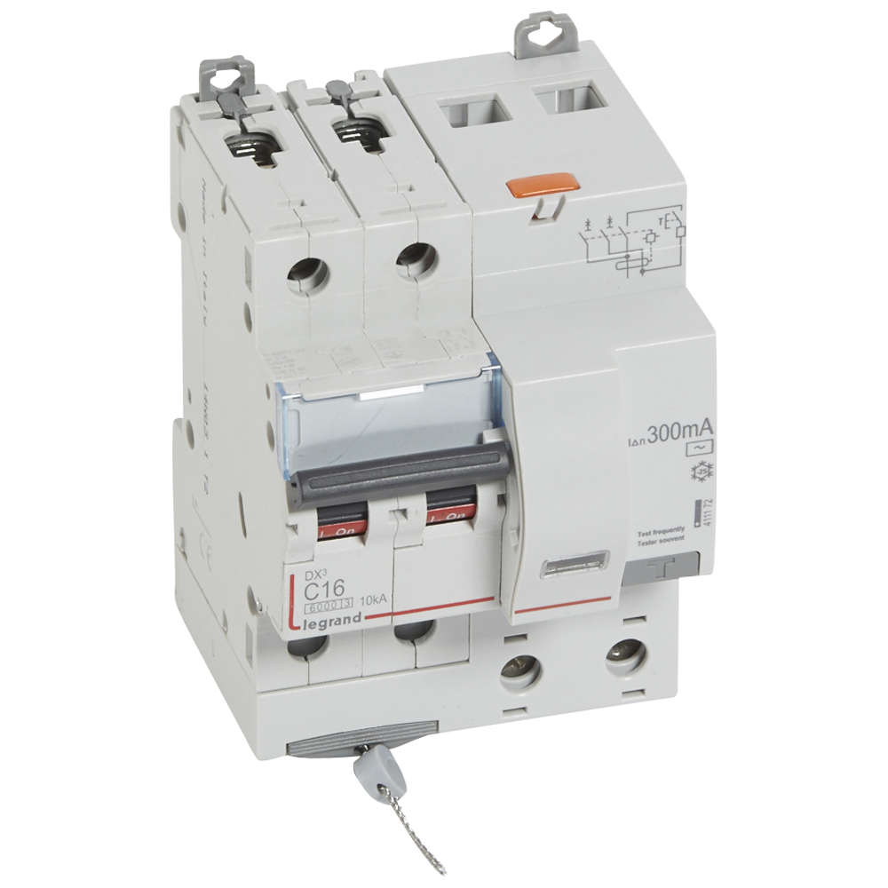 АВДТ DX3 2П C16А 300MA-AC 4м