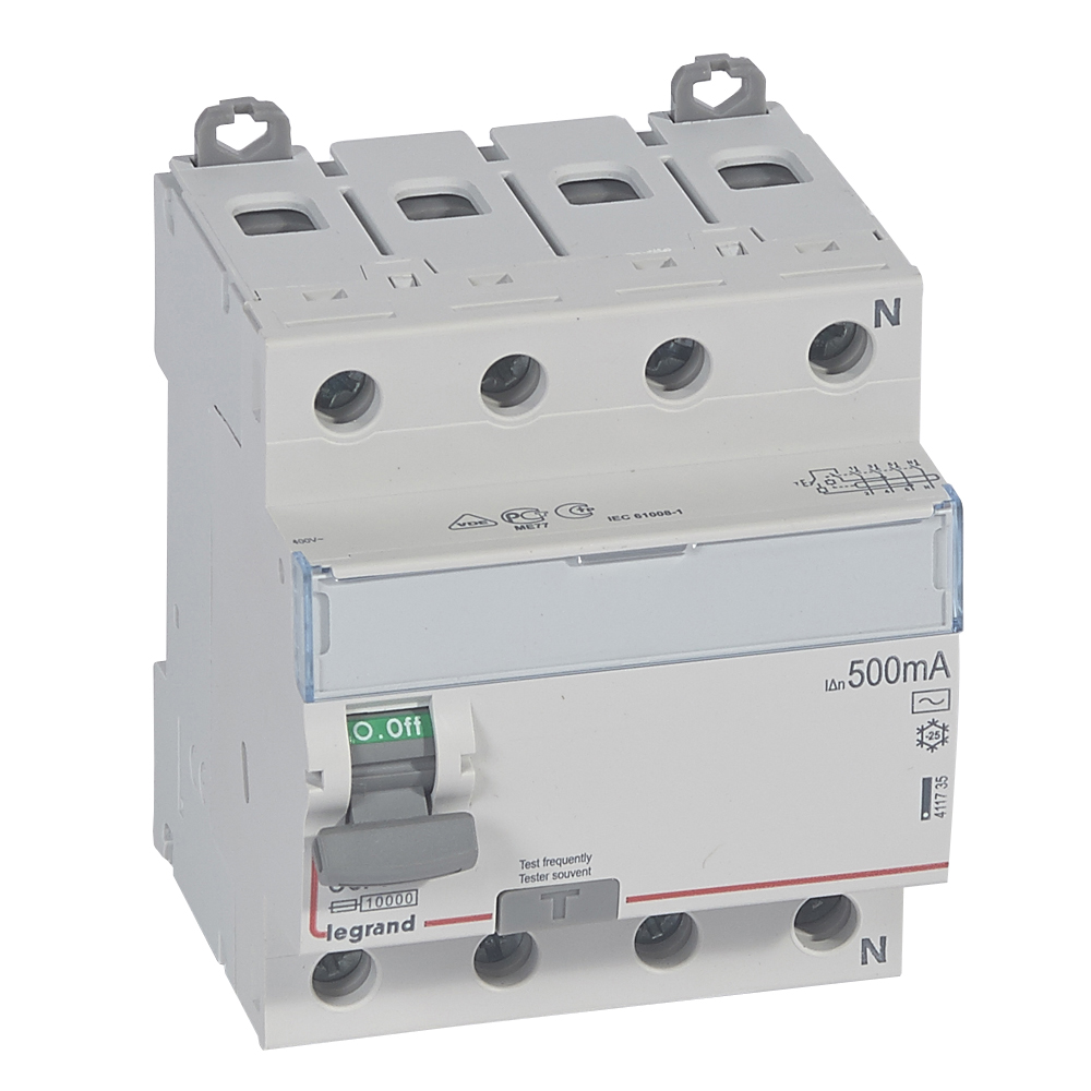 ВДТ DX3 4П 80А AC 500мА N спр.
