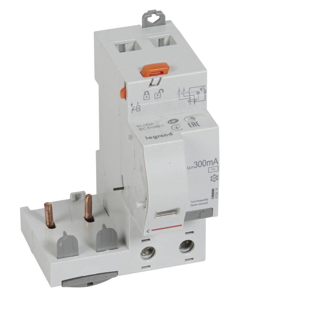 Диф.блок DX3 63A 2П AC 300mA
