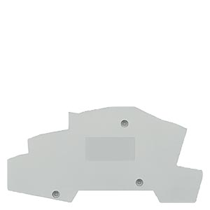 COVER-INSTA-TERMINALS FOR 2,5 MM 2, WIDTH 2MM GREY DISCONNECTION