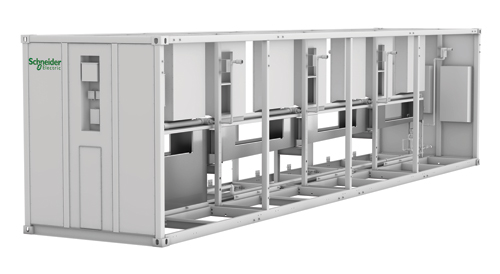 Блок EcoBreeze размера 12 м (40 футов), 400 В / 3 ф. / 50 Гц