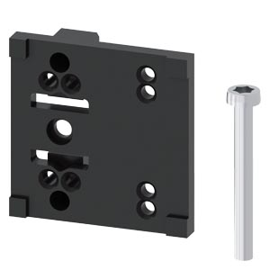 3SX5100-1A – Siemens Mounting plate for control cabinet position switch 3SE5232-0CH05-1AB. or 3SE523. plastic 31 mm and 3SE521. metal 31 mm