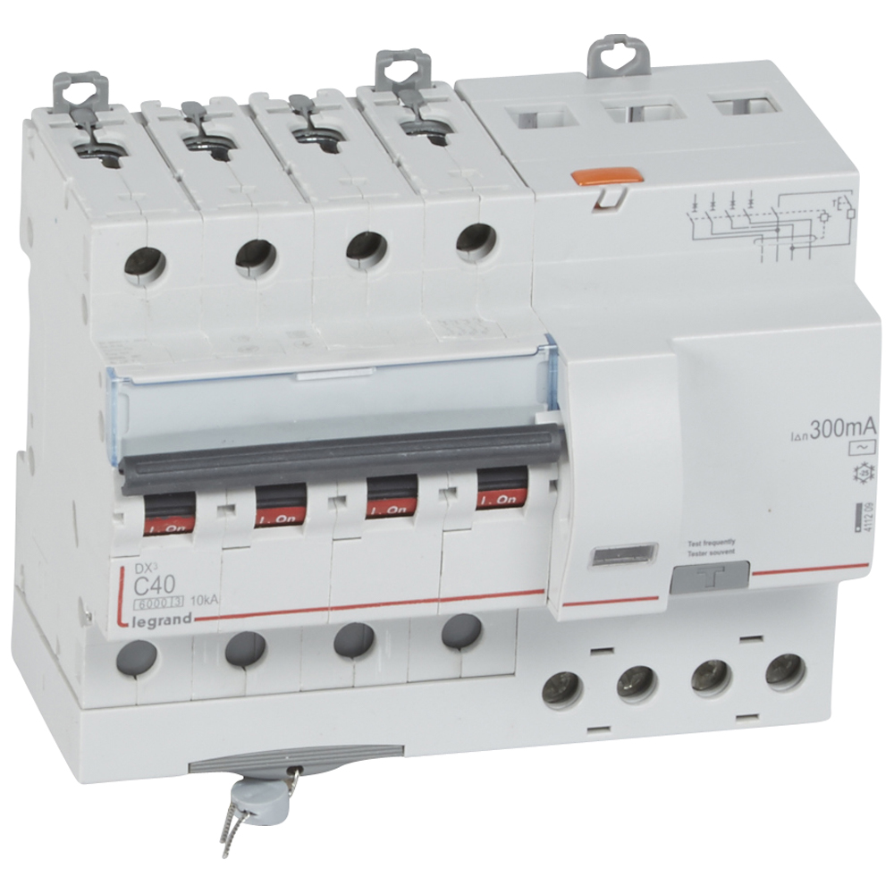 АВДТ DX3 4П C40А 300MA-AC 7м