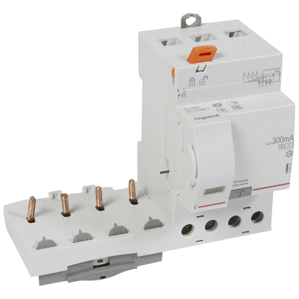 Диф.блок DX3 63A 4П 300mA-AC-S